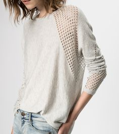 maje GRESSIN Wool Blend Sweater at Maje US (pretty but don't buy me this!)