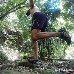 Cool mountain air in your face and dirt path beneath your feet! That's we love hitting the trail! (We know Instagram fan iazaldir does too!) #trailrun #getdirty #kicks #shoes #run #ASICS  Shop the shoe by clicking the link in our profile.