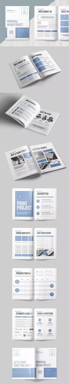 Sponsorship Proposal Template InDesign INDD - A4 \ US letter - marriage proposal template
