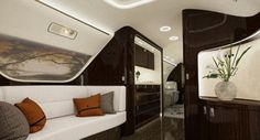 The Embraer Lineage 1000 is the pinnacle when it comes to private planes and was designed to cater to long-haul journeys