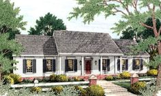 Plan #406-128 - Houseplans.com