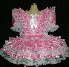MISTRESS LADY PENELOPE ADULT CUSTOM MADE SISSY DRESSES AND MAIDS UNIFORMS 07970183024
