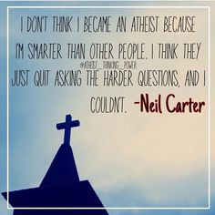 Never stop questioning