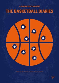 The Basketball Diaries (1995) ~ Minimal Movie Poster by Chungkong #amusementphile