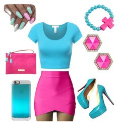"""Cotton candy"" by kaykay-booski on Polyvore featuring art"