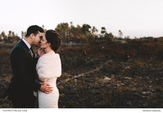 Although harmed by a mighty fire, this couple's barren surroundings were warmly embraced, symbolising a new beginning. Winter Wedding Inspiration, Wedding Ideas, Charlie Ray, Couple Shower, New Beginnings, New Life, Big Day, Breathe, Groom