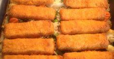 Fischstäbchen-Auflauf...ideal für Kinder, ein Rezept der Kategorie Hauptgerichte mit Fisch & Meeresfrüchten. Mehr Thermomix ® Rezepte auf www.rezeptwelt.de