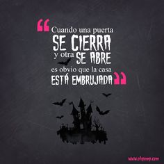 Haloween, Dia de Muertos, October, Quotes, Frases, Citas, Humor OH POMP! Jeans October Quotes, Happy Smile, I Laughed, Sad, Funny Memes, Humor, Feelings, Words, Inspiration