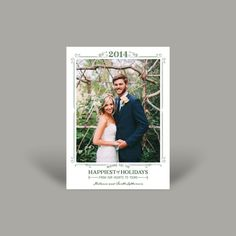Introducing the new 2014 Holiday Collection! Contact Invitations by Design to create yours!