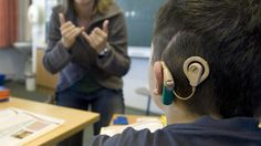 """NPR: Cochlear Implants Redefine What It Means To Be Deaf: """"More than 80 percent of children who are or were hearing impaired now attend their local schools."""" That's where the Decibels' Education Specialist comes in..."""