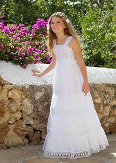 vestido comunión www.d-blanco.es/prestashop Idea para un camisón
