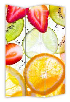 Folding Screen SLICED FRUITS by Sticky!!!