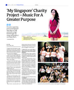 'My Singapore' Charity Project – Music For A Greater Purpose (Page 1 of 2) --- Epoch Times, Singapore Edition (Issue 483, 21 Mar - 3 Apr 2014)