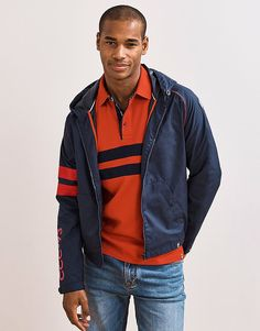 Men's Torquay Jacket in Navy from Crew Clothing