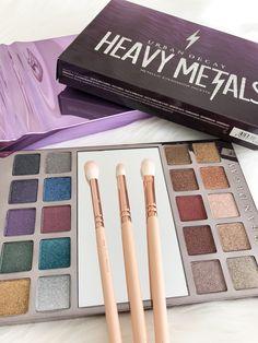 Urban Decay Heavy Metals Metallic Eyeshadow Palette #ad #cosmetics #makeup #beauty #urbandecay #eyeshadow #palette