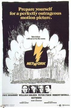 Network (un mundo implacable) (1977) EEUU. Dir: Sidney Lumet. Drama. Sátira. Xornalismo - DVD CINE 149