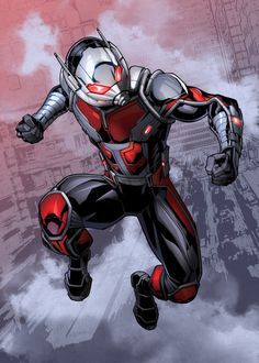 "Marvel Avengers Mightiest Heroes Ant-Man artwork by artist ""MARVEL"". Marvel Comic Universe, Marvel Comics Art, Marvel Comic Books, Comics Universe, Marvel Heroes, Marvel Characters, Marvel Cinematic Universe, Marvel Avengers, Secret Avengers"