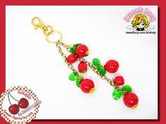 Chaveiro de Bolsa Sweet Cherry R$29.90