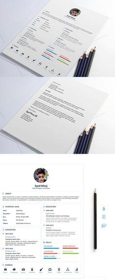 Free Resume Download  #CV #Resume #PSD #Templates