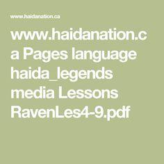 www.haidanation.ca Pages language haida_legends media Lessons RavenLes4-9.pdf