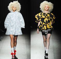 DRESSCAMP 2014 Spring Summer Womens Runway Collection - Mercedes-Benz Fashion Week Tokyo Japan Toshikazu Iwaya - Streetwear Denim Jeans Dres...