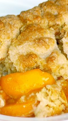 The Best Ever Southern Peach Cobbler ~ Says: I made this and it is simply delicious! The cobbler is not doughy. Very flavorful.