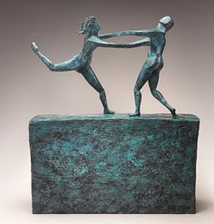 Reach by Bill Hester Bronze ~  x
