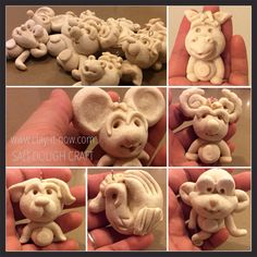 12 animals in Chinese Horoscope. It's made of salt dough - baked at 220deg C for 20 minutes. Now it's up to you to paint them as you like. You might want to follow #clayitnow face book page or website for update & free tutorials.