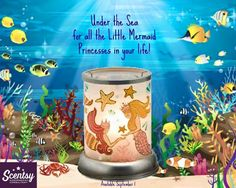 For all my mermaid lovers this #Scentsy warmer is for you from the 2015 Fall/Winter catalog. Gets yours and more https://yvonnesanya.scentsy.us