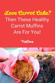 The mix of spice and flavours in these delicious carrot muffins is reminiscent of carrot cake – they'll disappear in no time and are great for lunchboxes! Healthy Carrot Muffins, Lunchbox Ideas, Carrot Cake, Family Meals, Carrots, Sweet Treats, Lunch Box, Dessert Recipes, Favorite Recipes