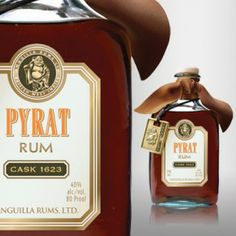 Pyrat Rum, made by the same company as patron!