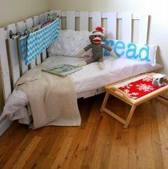 camas infantiles de palets