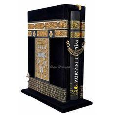 Kabe Görünümlü Kuran-ı Kerim Hediyelik Özel Kutu