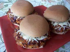 Vegitarian Chili Bean Burgers. EASY, cheap, and goooooood!!!!!! Making this in bulk and dinner is quick every night!
