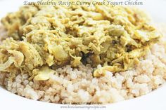 ** Healthy Meal For Clean Eating: Curry Greek Yogurt Chicken ** | Clean Eating Diet Plan's Best Recipes