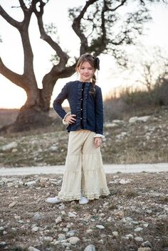 Kalliope Kids Fall 2015 trendy girls sophisticated sass navy jacquard sweater
