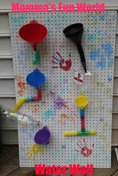 Mommas Fun World: DIY....Water Wall fun#Repin By:Pinterest++ for iPad#