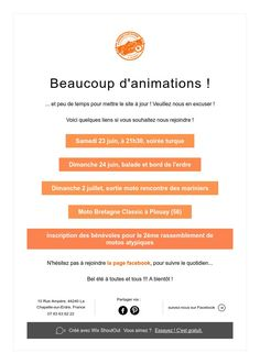 Beaucoup d'animations !
