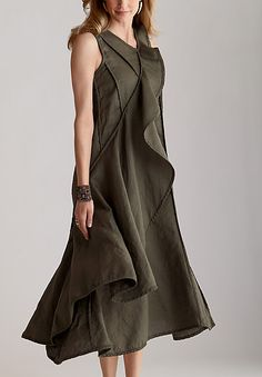 "Cynthia Ashby ""Zelda"" dress $340 linen"