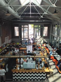 Nice shops, drinks and food: De Hallen, Amsterdam West