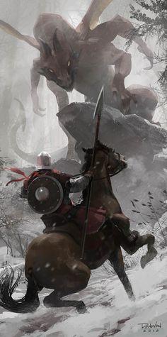 Knight byDonovan Valdes