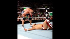 """John Cena says """"You Can't See Me"""" to Daniel Bryan on Raw."""