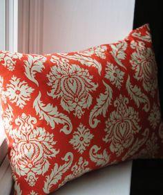 12x16 Amber Blockade Blossom Pillow Cover by KelsCozyCorner, $18.00