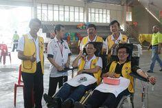 Pekan Nenas Lions Club (Malaysia)   Lions held a blood drive