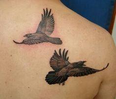 Raven Tattoos for Women Heidnisches Tattoo, Pagan Tattoo, Hugin Munin Tattoo, Viking Tattoos, Crow Tattoos, Fairy Tattoo Designs, Cool Tats, Weird Dreams, Tattoos For Women