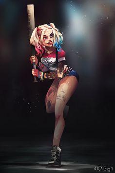 Harley Quinn - Akaggy.deviantart.com