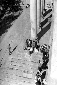 Escalera de Anaya en los años 50