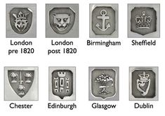 How to read Hallmarks - A guide to reading hallmarks on British Silver - I.Franks