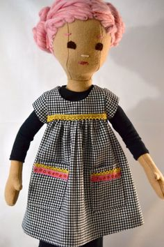 Custom for Kristin Pink Haired Phoebe Doll by PhoebeandEgg on Etsy, $225.00
