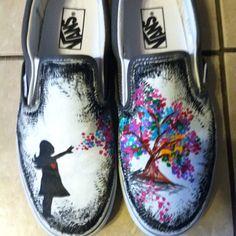 hand painted vans :)